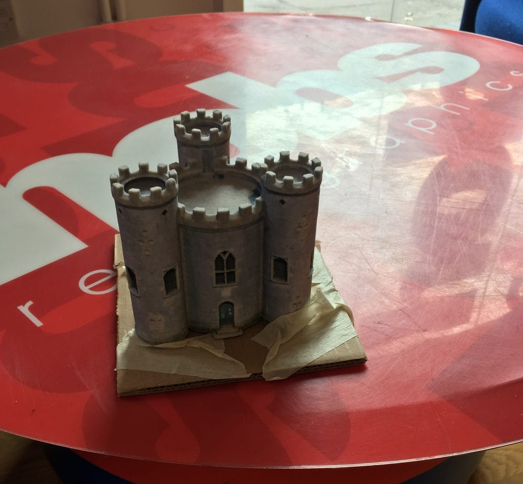 Blaise Castle Capture, 3D Modelling and Printing 1