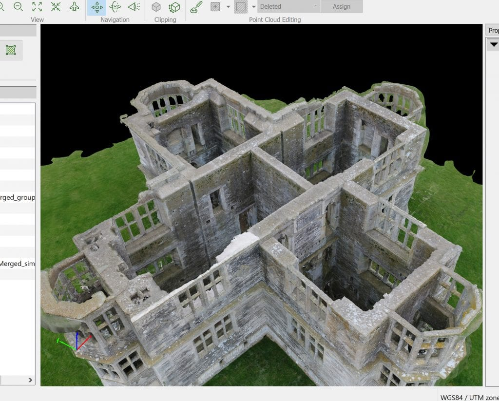 Aerial Inspection and 3D Modelling of a Grade I listed building 2