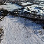 Rodway Hill Bristol in the snow